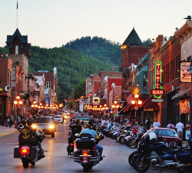 This is what Deadwood looks like on a busy night. Thank you South Dakota Travel for the pic.