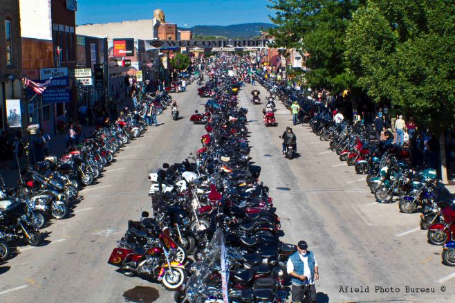 Sturgis, South Dakota - Main Street - 10am