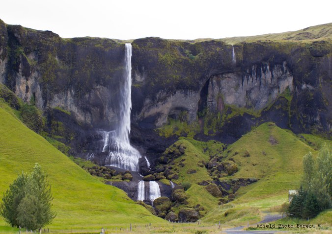 Just another roadside waterfall, you know, no big deal.
