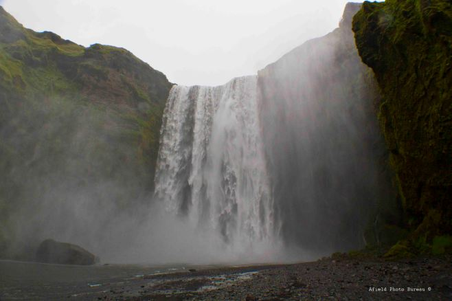 Skogafoss up close. It is a miracle that there isn't anybody in this shot.