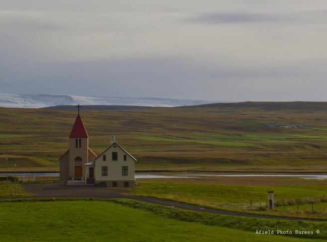 Little churches like this are everywhere and look like they can seat about five people.
