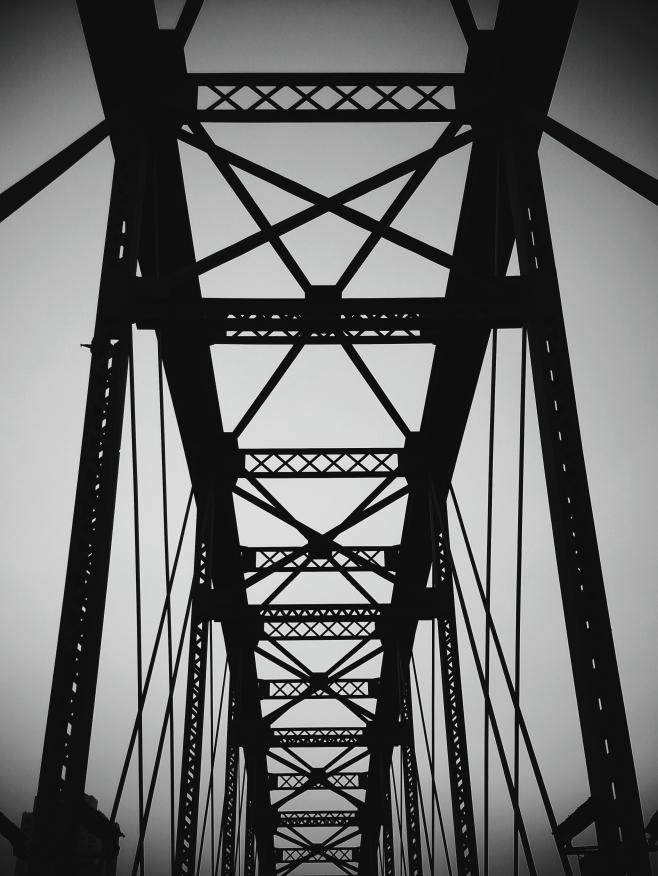 Upper spans of the Broken Bridge.