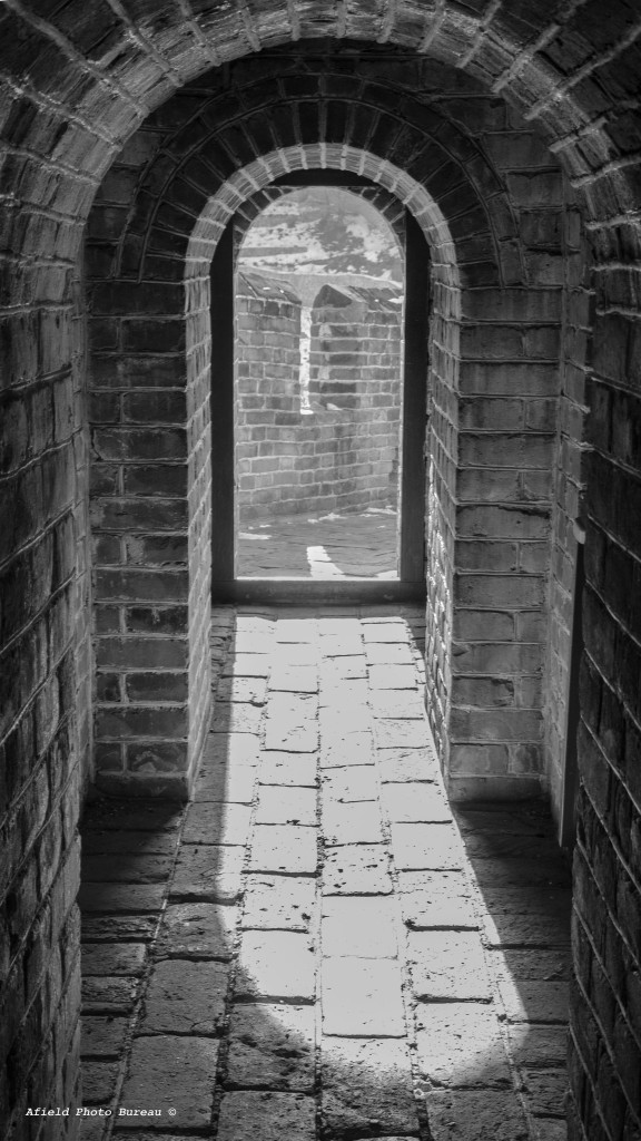 Just a doorway in one of the guard houses.