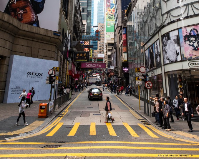 The hills leading up to Lan Kwai Fong.