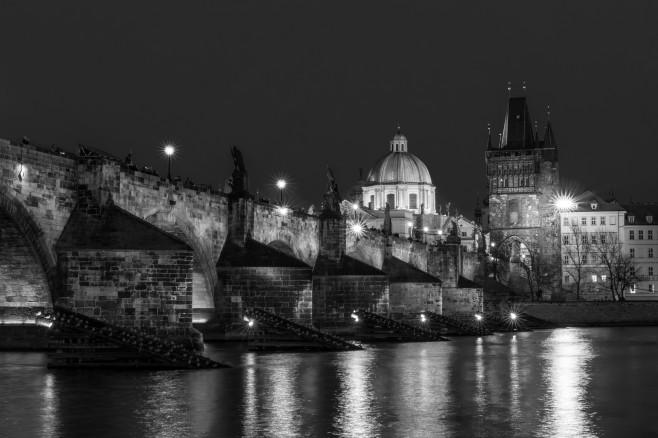 Charles Bridge - Christmas Night