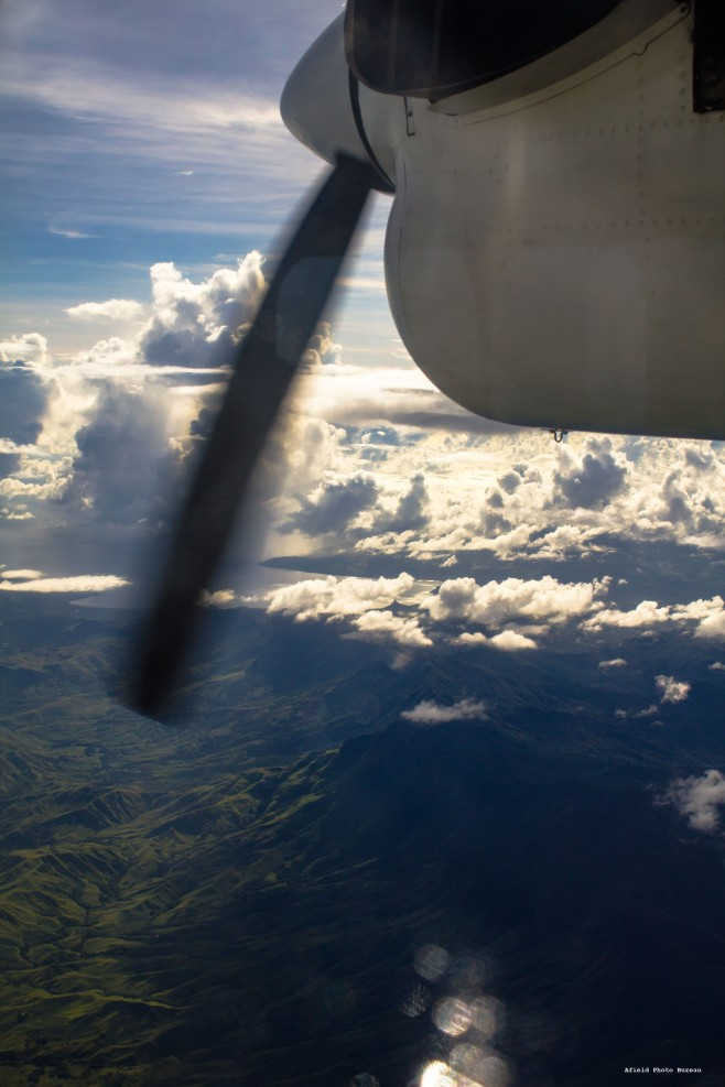 Getting the chance to fly in smaller prop-planes is one of the perks of travelling to far flung places. Fiji - 2014.