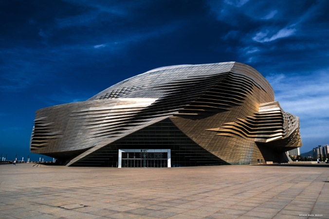 The Dalian International Convention Center. In my opinion it is a very sexy building.